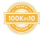 100K in 10 partner logo