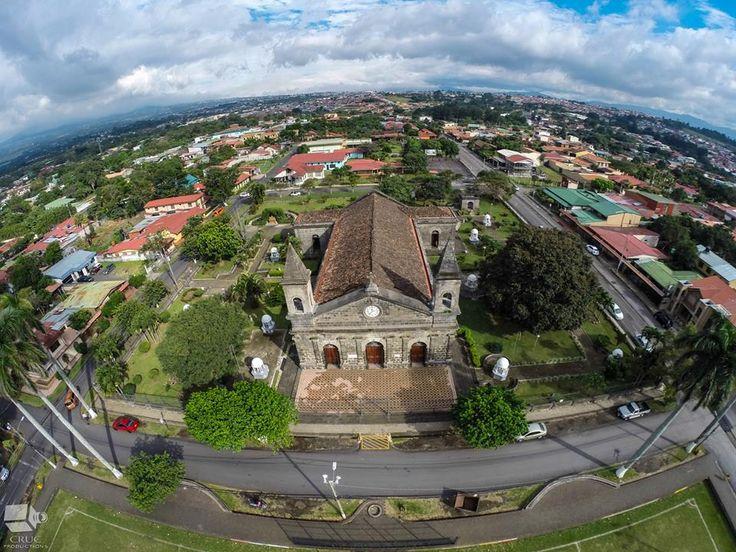Costa Rica San Joaquin de Flores church