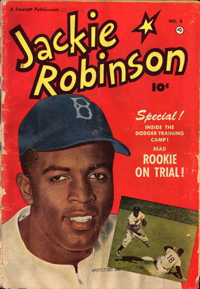 Jackie Robinson book cover