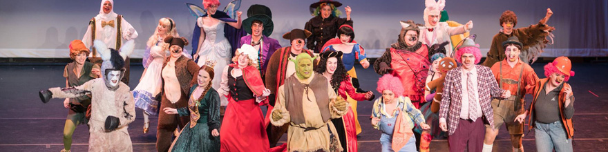 scene from Shrek at the PCAC
