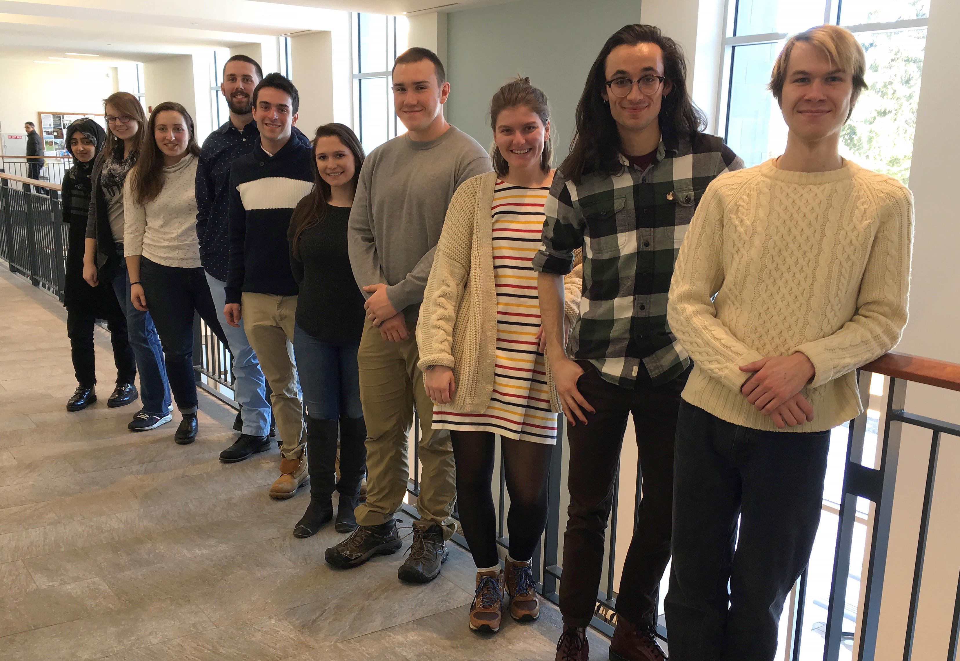 photo of 10 student ambassadors