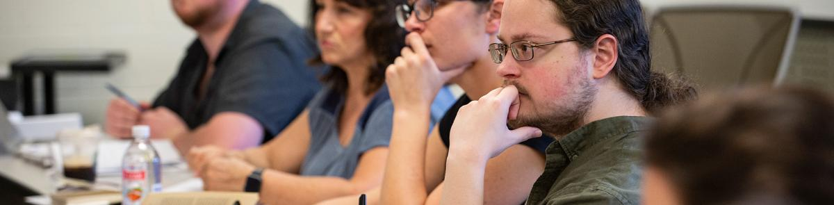 History students in class lecture