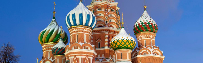 Russia onion domes