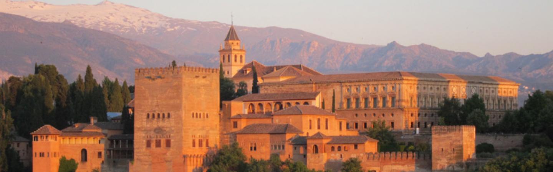Sunlight on Alhambra, Spain