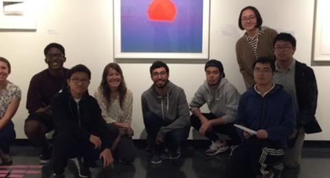 group at Museum of Art
