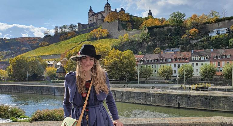 Marissa Anderson in Germany
