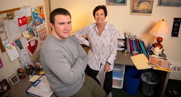 photo of Peter Jaarsma and Arna Bronstein