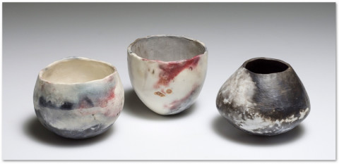 ceramic raku bowls
