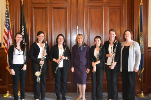 Governor Hassan Clarinet Performance