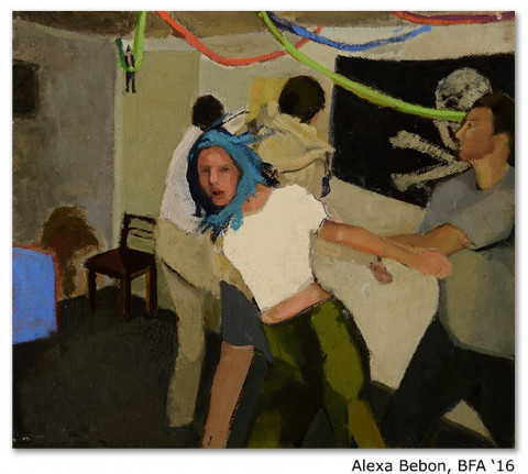 painting and drawing portfolio