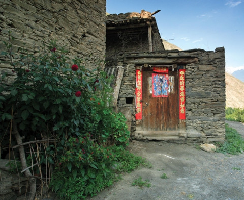 sichuan province countryside house
