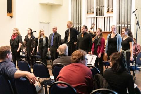whole ensemble singing
