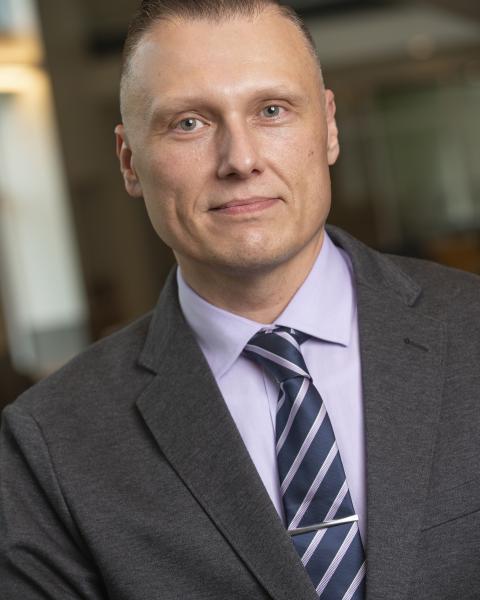 headshot of Sergios Charntikov