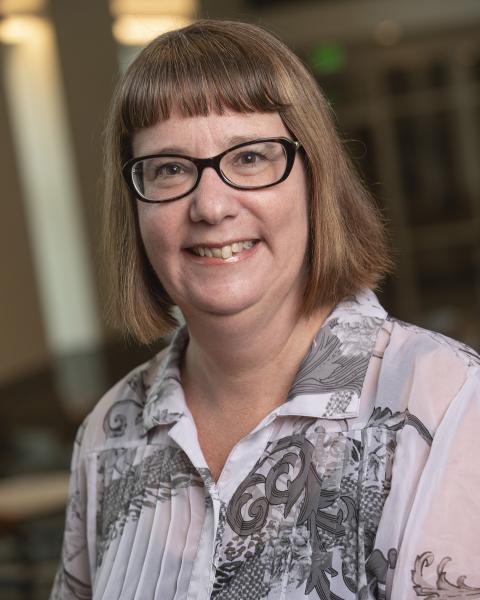 headshot of Karen Van Gundy