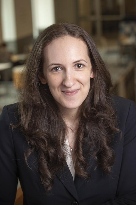 headshot of Emily Baer-Bositis