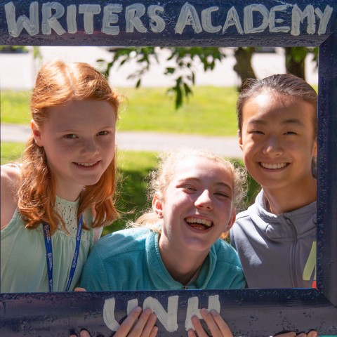 Writers Academy students