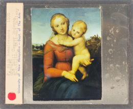 painting of mother holding child