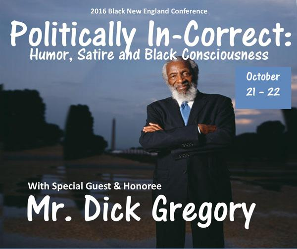 Mr. Dick Gregory, Politically In-Correct 2016