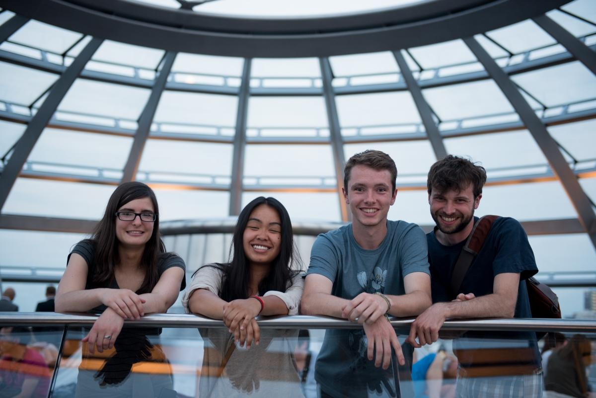 Berlin study abroad students