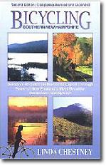 Linda Chestney: Cycling the Backroads of Southern New Hampshire in 30 Scenic Tours book cover