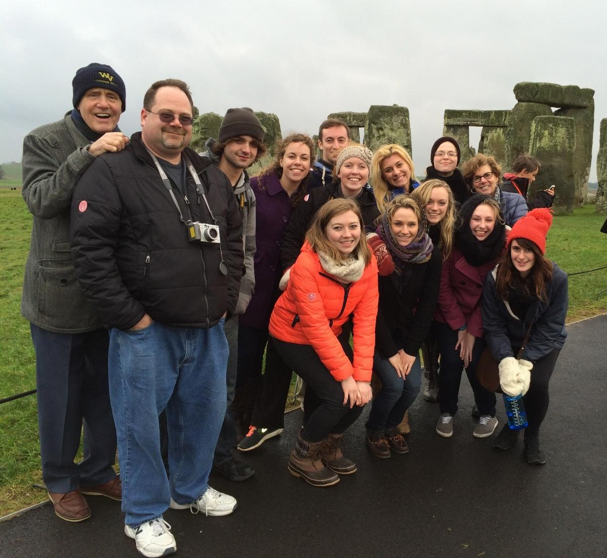 England travel writing study abroad students