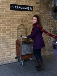 London Kings Crossing Platform 9 3/4