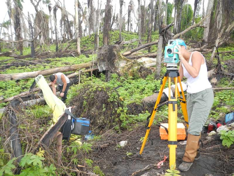 Belize surveying