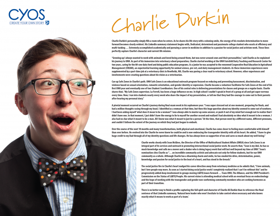 Charlie Durkin - Create Your Own Story