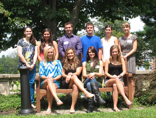 class of UNH Justice Studies graduate students
