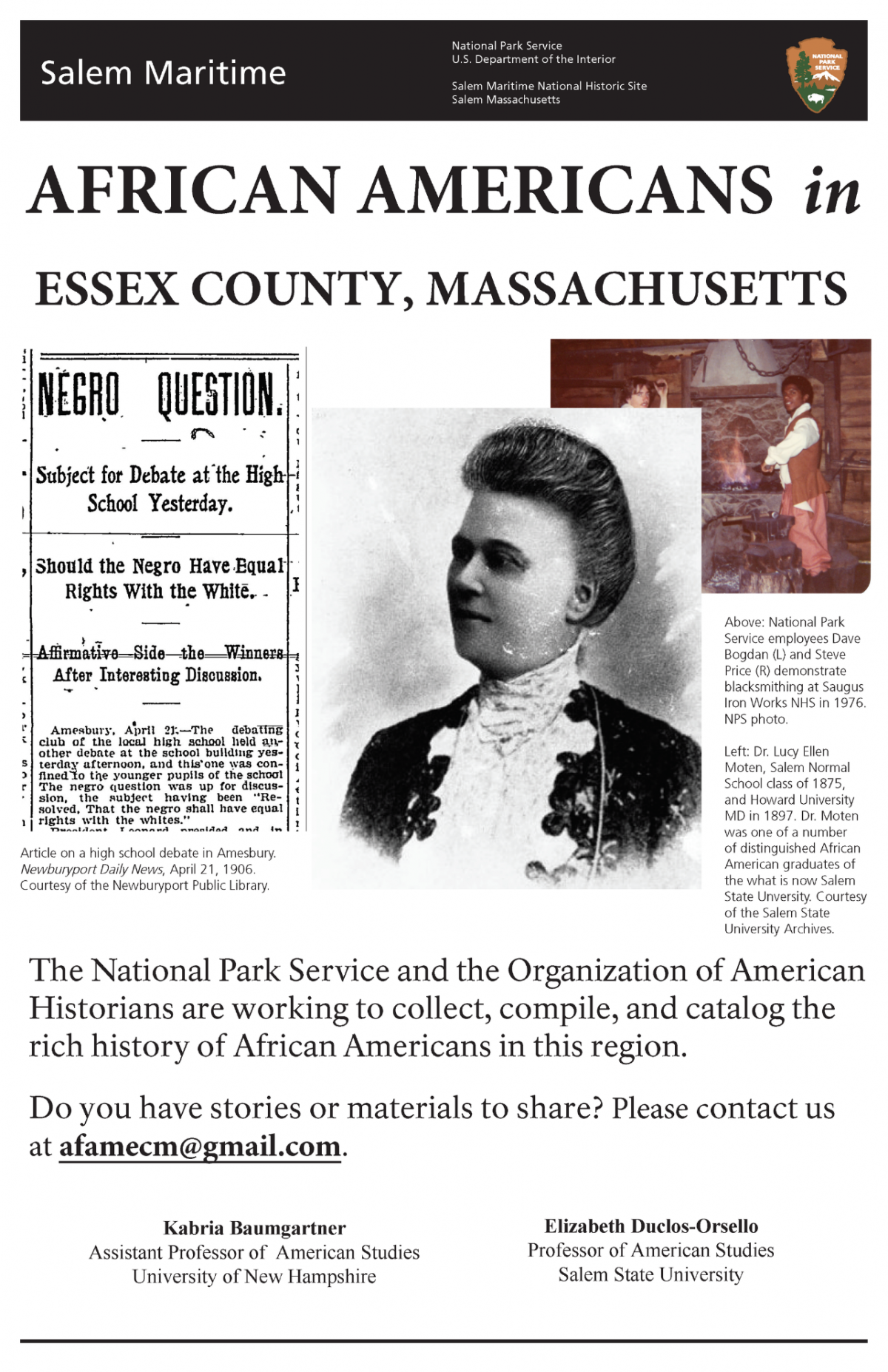 Essex County project flyer