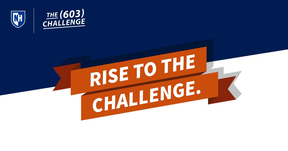 The (603) Challenge 2020 image.